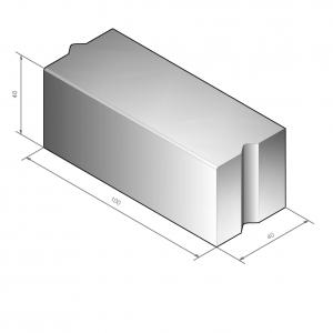 Projectband 40x40 + hulpstukken