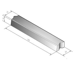 Trottoirband 100x18/x20x10
